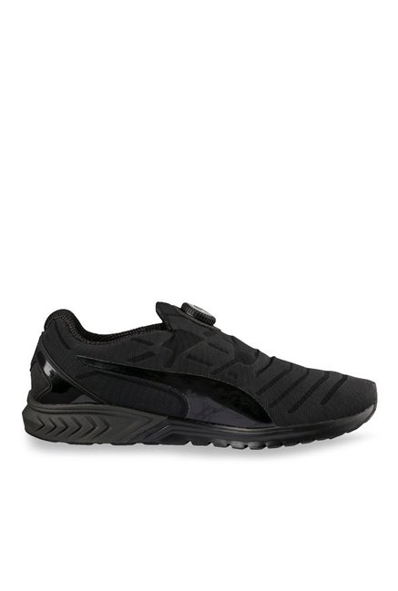 0ccd3d921c72 Buy Puma Ignite Dual Disc Dip Black Running Shoes for Men at Best Price    Tata CLiQ