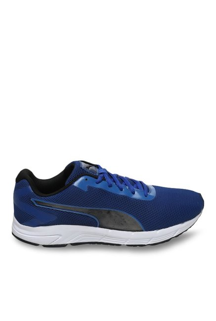 a7a7895b8be Buy Puma Engine IDP True Blue   Black Running Shoes for Men at ...