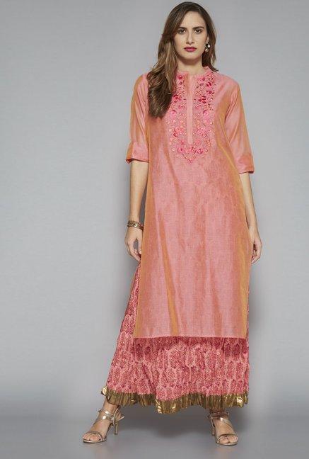53cd3bdb6 Buy Vark by Westside Pink Ethnic Set for Women Online @ Tata CLiQ