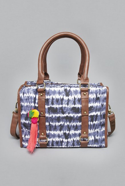 ca9545aa87 Buy Westside Indigo Ekta Tie-dye Tote for Women Online   Tata CLiQ