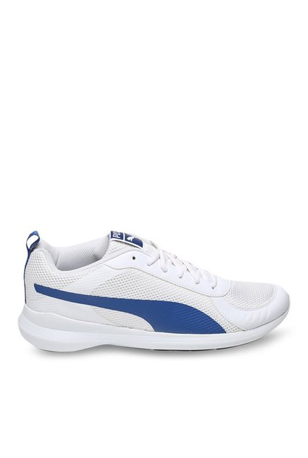 178fdc2bbe450 Buy Puma Zenith IDP IDP White & True Blue Running Shoes for Men at Best  Price @ Tata CLiQ