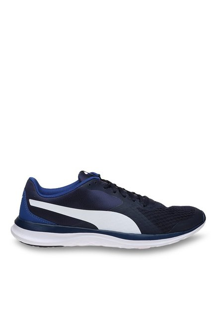 8f0ffc72 Buy Puma Flex T1 IDP Peacoat & White Running Shoes for Men at ...