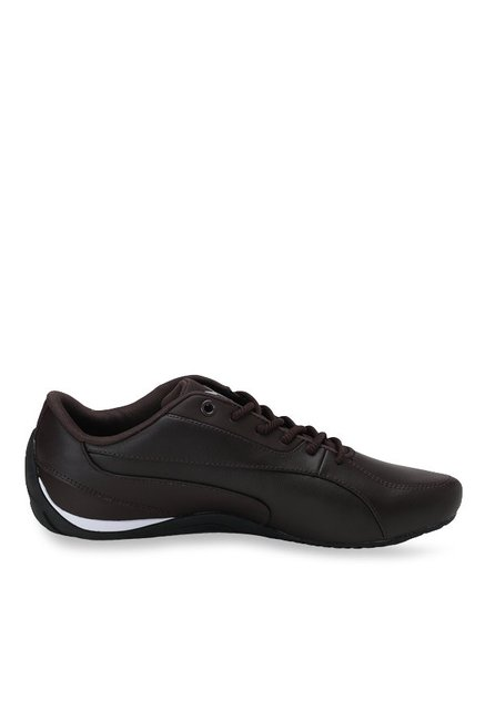 Buy Puma Drift Cat 5 Core Coffee Brown Sneakers for Men at Best Price    Tata CLiQ a9555bb89