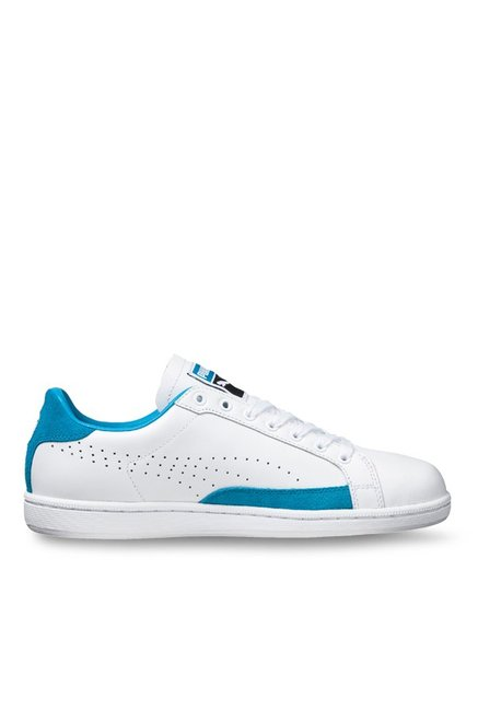 d055d706ae6 Buy Puma Match 74 UPC White   Blue Danube Sneakers for Men at ...