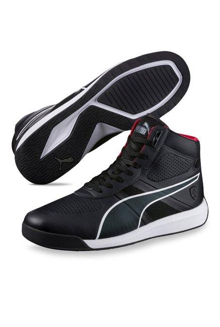 ... wholesale puma ferrari sf podio mid black ankle high sneakers 6b583  2c45b ... 470b1e473