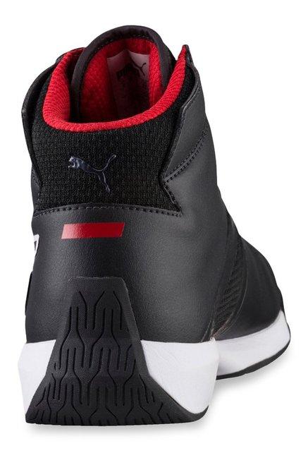 0efee7009de ... wholesale puma ferrari sf podio mid black ankle high sneakers 1d27d  4a73f