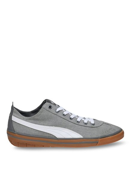 25db890a2133 Buy Puma 917 FUN Herringbone IDP Grey   White Sneakers for Men at Best Price    Tata CLiQ