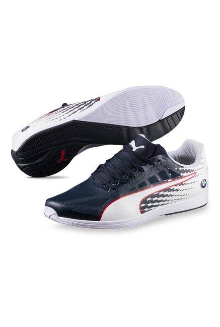 75ba47f684c Buy Puma BMW MS evoSpeed Team Blue   White Sneakers for Men at Best ...