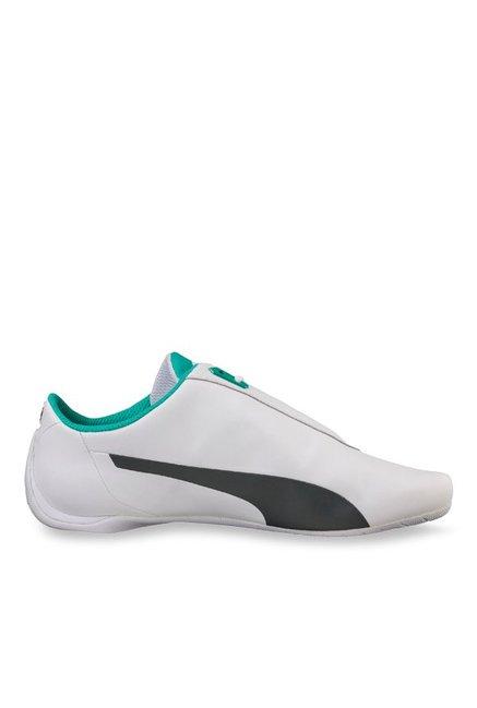 7bfa0a69ddd Puma Mercedes MAMGP Future Cat White   Dark Shadow Sneakers