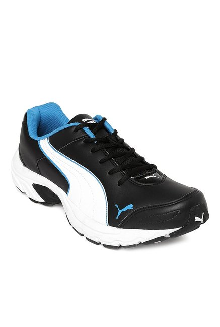 detailed look 2490b 5c63d Buy Puma Basket Classic IDP Black & White Running Shoes for ...