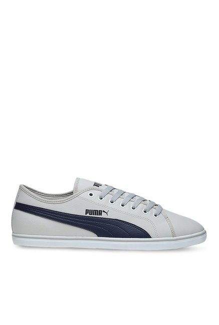 ceffd1a72d7 Buy Puma Elsu V2 SL DP Light Grey   Peacoat Sneakers for Men at Best Price    Tata CLiQ