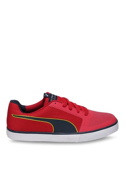 0c924b4e6a7 Buy Puma Red Bull RBR Wings Vulc Red   Total Eclipse Sneakers for Men at  Best Price   Tata CLiQ