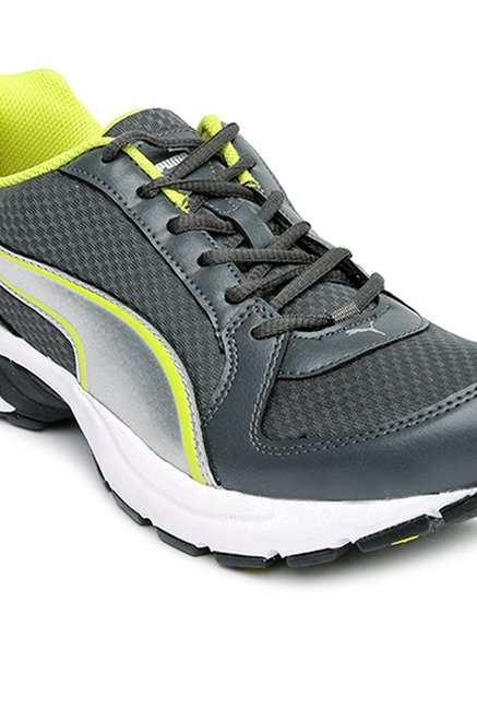 Buy Puma Bolster DP Dark Shadow   Silver Running Shoes for Men at ... fe6cde896