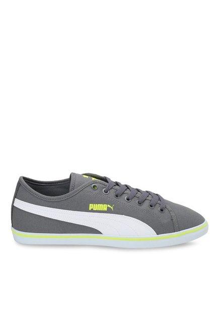 233b52121ad Buy Puma Elsu V2 CV DP Quiet Shade   White Sneakers for Men at ...