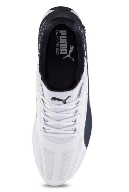 5525c695a86 Buy Puma BMW MS evoSpeed White   Team Blue Sneakers for Men at Best ...