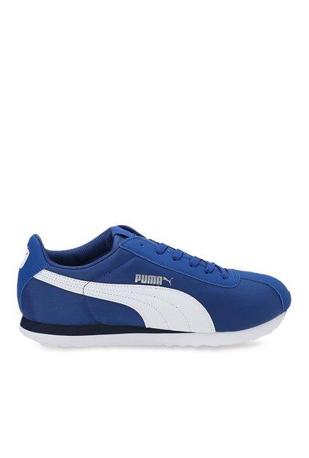 9ceeddb633ed Buy Puma Turin NL True Blue   White Sneakers for Men at Best Price   Tata  CLiQ