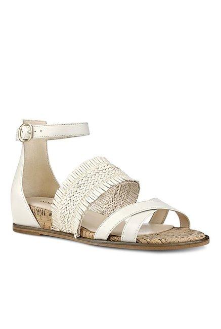 45458af5dfd Buy Nine West Nwvernell Off-White Ankle Strap Sandals for Women at ...