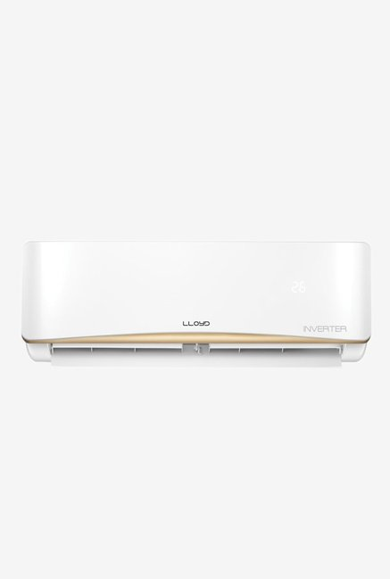 Lloyd 1 Ton 3 Star Inverter Split AC (Copper Condensor, LS13AI, White)