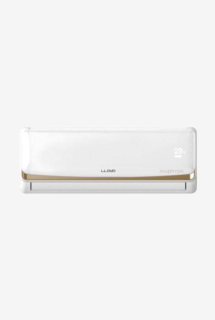 Lloyd 1 Ton 3 Star (BEE Rating 2017) LS12I3FI-O Inverter Split AC (White)
