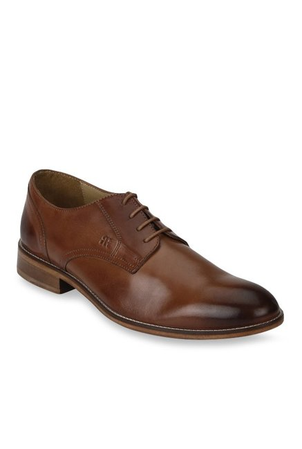 7c8c887b10 Buy Raymond Dark Brown Derby Shoes for Men at Best Price @ Tata CLiQ