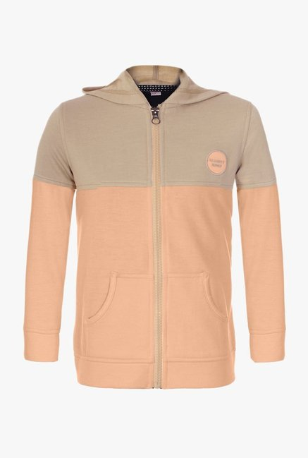 9fc75a1c4c75 Buy Naughty Ninos Peach Solid Hood Jacket for Girls Clothing Online ...