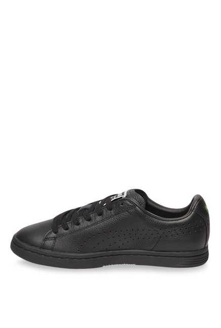 more photos f7422 1cbc7 Buy Puma Court Star NM Black Sneakers for Men at Best Price ...