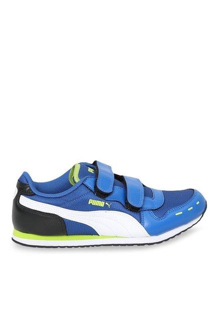1d0bee2afd96 Buy Puma Cabana Racer V Jr Lapis Blue   Black Sneakers for Boys at Best  Price   Tata CLiQ