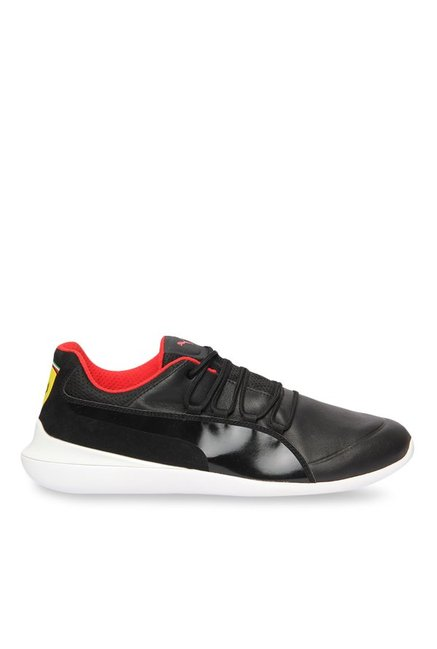 7468c601564 Buy Puma Ferrari SF Evo Cat Black Sneakers for Men at Best Price   Tata CLiQ