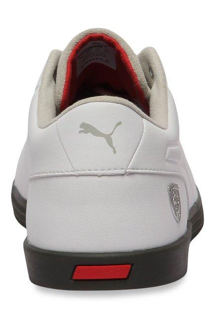 bd10c46b052 Buy Puma Ferrari SF Wayfarer Light Grey   White Sneakers for Men at ...