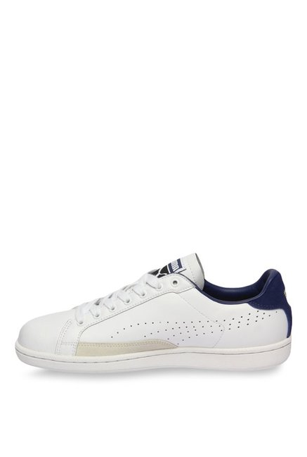 0d9f4f74f44 Buy Puma Match 74 UPC White   Blue Depths Sneakers for Men at Best ...