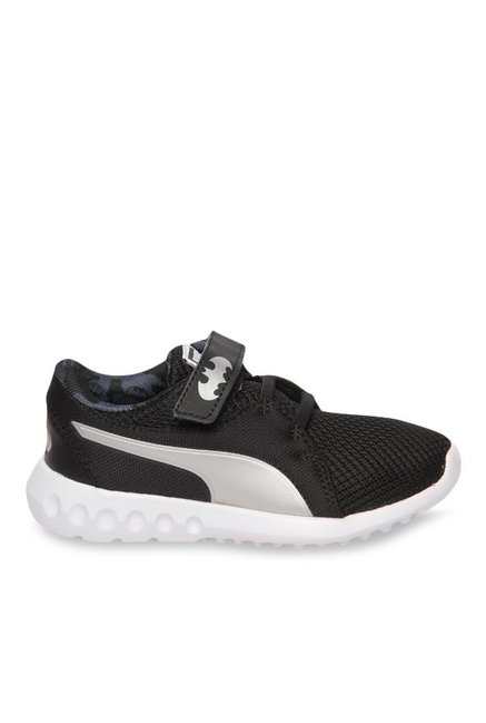 2f83033f4b Buy Puma Batman JL Carson 2 V PS Black & Silver Running Shoes for Boys at  Best Price @ Tata CLiQ