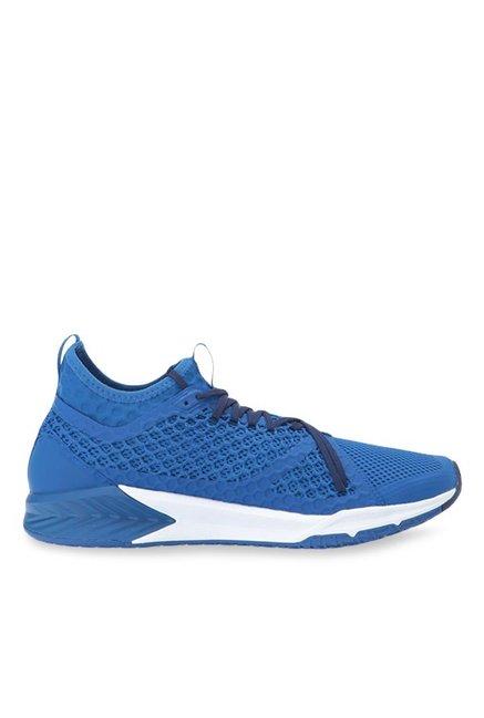 Buy Puma Ignite XT Netfit Blue Running Shoes for Men at Best Price   Tata  CLiQ a1a0a9127