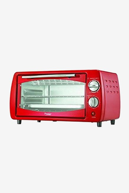 Prestige 41462 POTG 9 L Oven Toaster Grill, Red