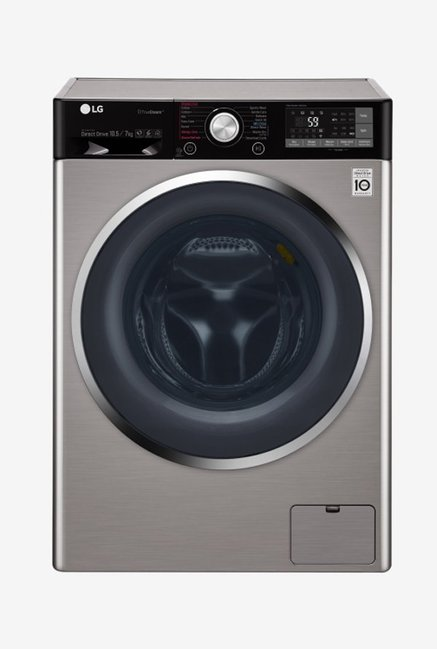 LG F4J9JHP2T 10.5Kg/7Kg Washer Dryer (Stainless Steel)