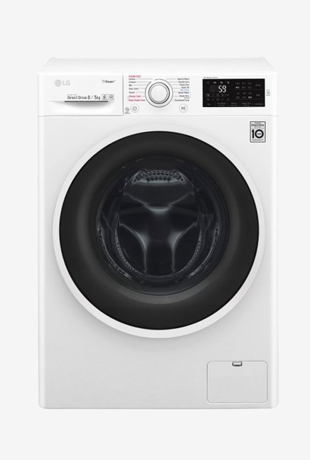 LG F4J6TGP0W 8Kg/5Kg Washer Dryer (Blue White)