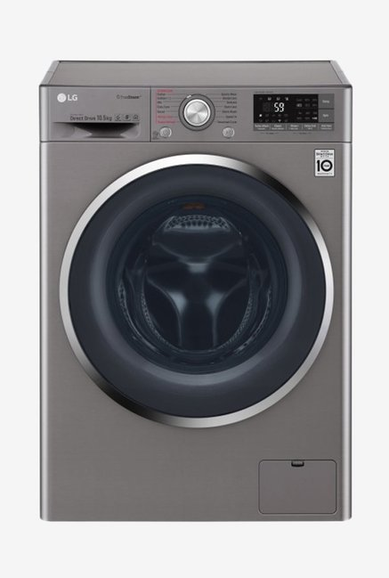 LG F4J8JSP2S 10.5Kg  Fully Automatic Front Load Washing Machine (Stone Silver)