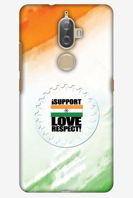 Buy Amzer I Support Love India Designer Case for Lenovo K8