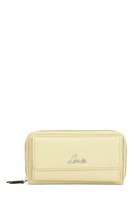 Lavie Roma Cream Solid Wallet