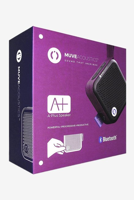 MuveAcoustics MA-2000RP A Plus 4W BT Speaker (Purple)
