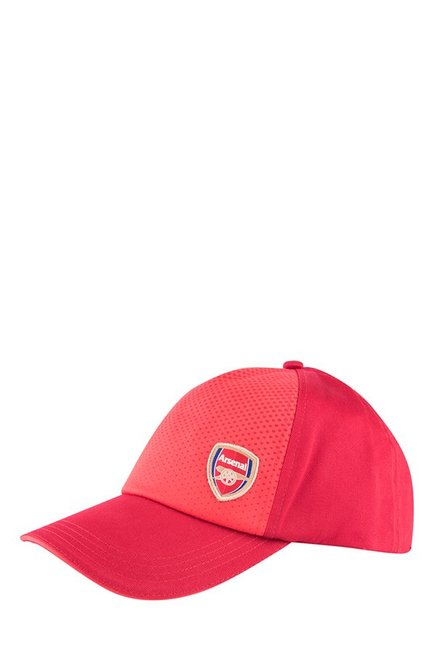 32d2543a8f17 Buy Puma Arsenal Chilli Pepper Solid Cotton Baseball Cap Online At Best  Price   Tata CLiQ