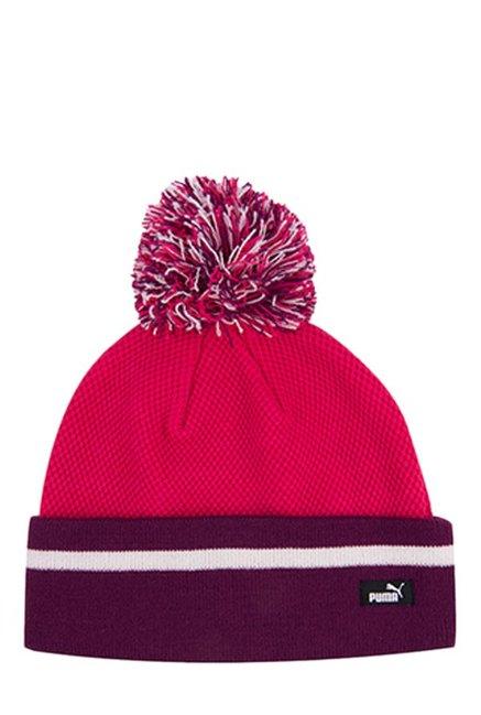 2e56631ae67 Buy Puma Style WM Love Potion   Purple Color Block Bobble Hat For Women At  Best Price   Tata CLiQ