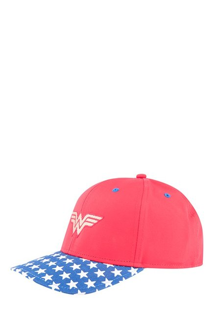 d2587654ed9 Buy Puma Wonder Woman Toreador Red   Blue Solid Gus Cap For Women At Best  Price   Tata CLiQ