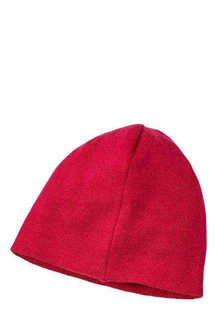 buy popular 50550 9786a Puma ESS Big Cat Toreador Red Solid Cotton Beanie
