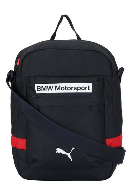 f0a8d9336cfe Buy Puma BMW Motorsport Blue   High Risk Red Solid Sling Bag For Men At  Best Price   Tata CLiQ