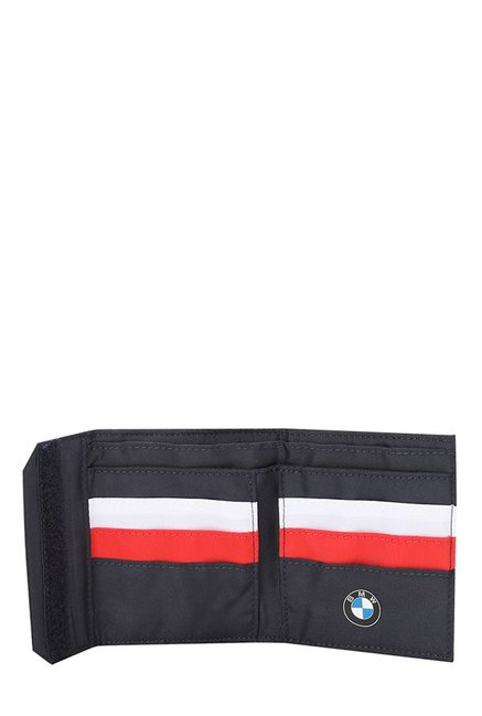 44fb8f868f Buy Puma BMW Motorsport Navy   White Solid Tri-Fold Wallet Online At ...