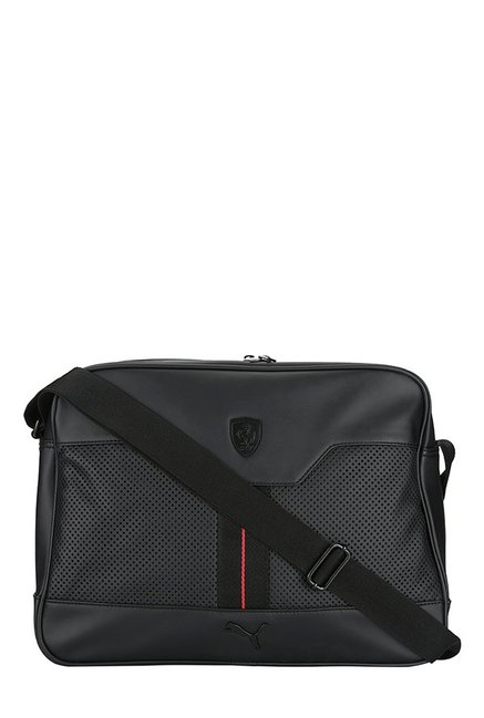 cdf918797fd1 Buy Puma BMW Motorsport Navy   White Solid Polyester Sling Bag For Men At Best  Price   Tata CLiQ