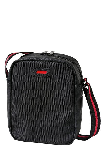 3818ab4ba5 Buy Puma Ferrari LS Black Solid Sling Bag Online At Best Price ...