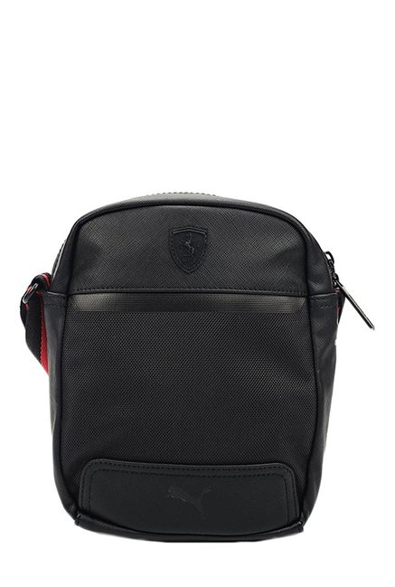 Buy Puma Ferrari LS Black Solid Sling Bag Online At Best Price ... fa314aca5b8d3