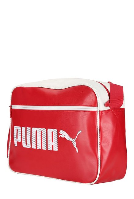 Buy Puma Ferrari Fanwear Black Textured Nylon Sling Bag For Men At ... 1ce36eff922