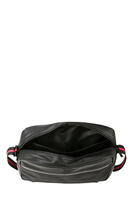 Buy Puma Ferrari LS Reporter Black Solid Laptop Messenger Bag Online ... 1f093b30d
